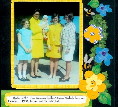 Sister's Traditional Small Scrapbooks p013