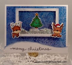 Reindeer Fun Shaker Card