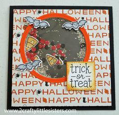 Lawn Fawn Halloween Shaker Card