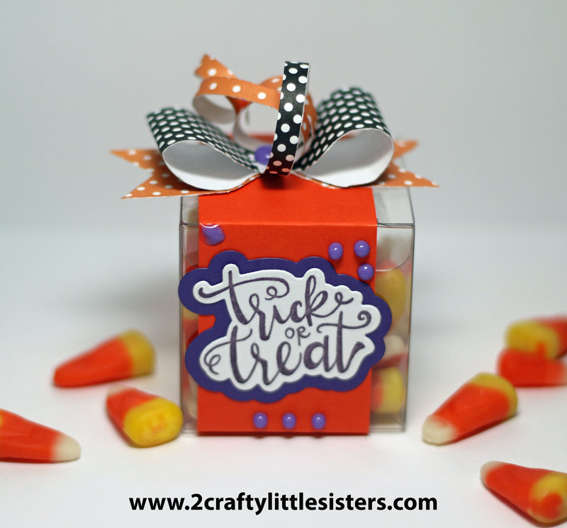 Sizzix Trick or Treat Clear Boxes