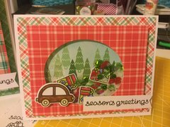 Home for the Holidays Shaker Card