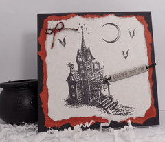 Tim Holtz Halloween Card