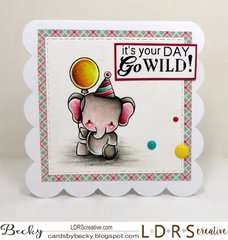 LDRS Creative Go Wild Designer Dies and Stamp Set