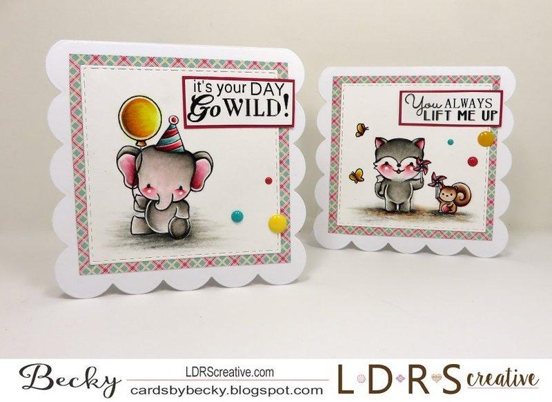 LDRS Creative Outdoor Play Stamp Set