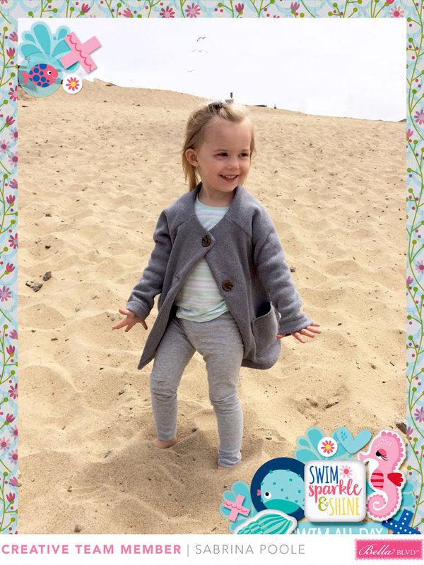 Beach Girl Left