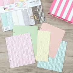 Sticker storage binder - dividers