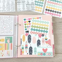 Sticker storage binder - divider 3