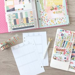 Sticker storage binder - take it with your planner to plan everywhere