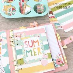 Summer planner setup front dashboard