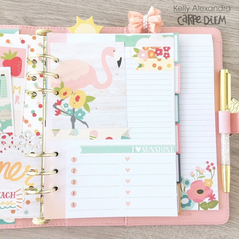 Planner extra page