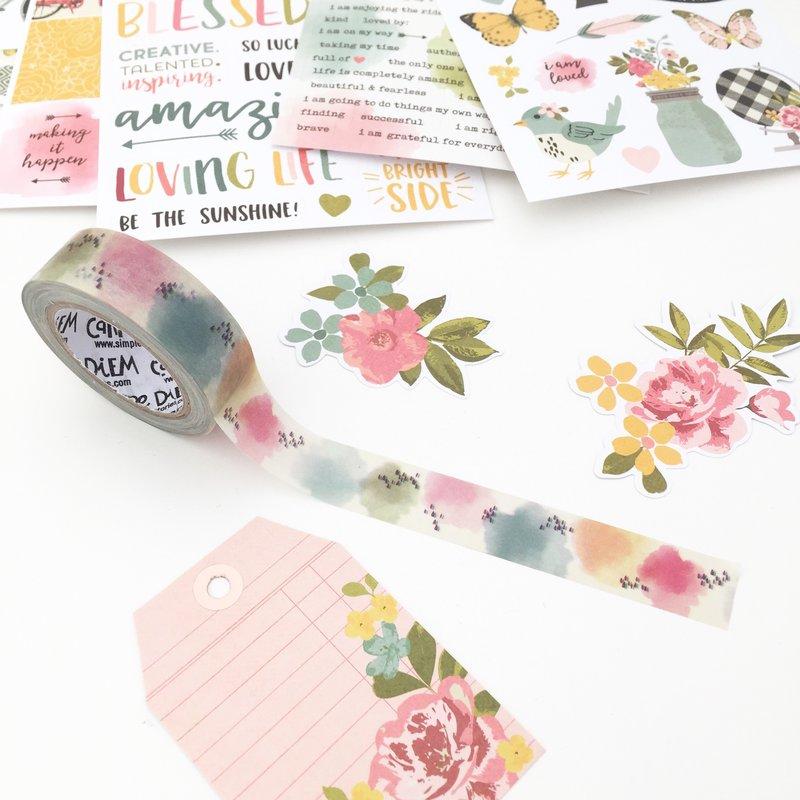 Washitape and stickers