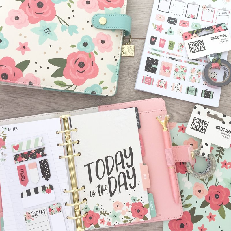 New Carpe Diem planner Bloom collection