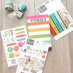 Fitness doc-it journal supplies