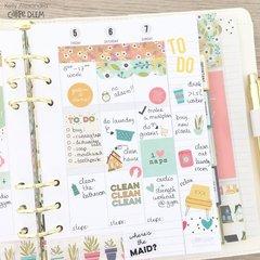 Planner weekly spread