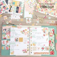 Planner spread