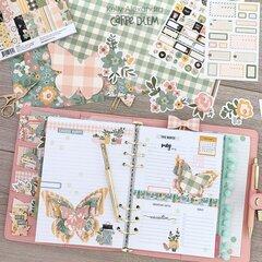 Butterfly planner spread