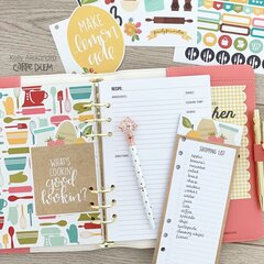 Carpe Diem recipe planner