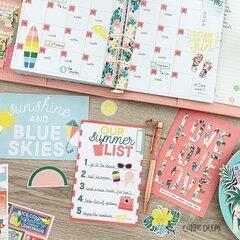Summer monthly spread