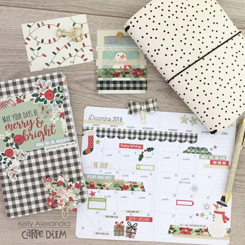 December Travelers Notebook