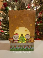 Christmas Luminary Gift Bag