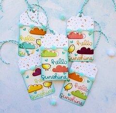 Hello Sunshine tags!!