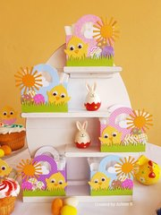 Easter Decorations with Lawn Fawn!!