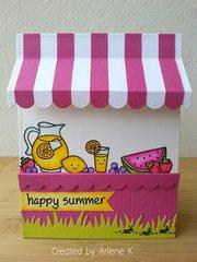 Fruit/Lemonade Stand Card