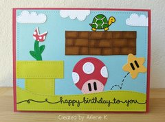 Mario Bros Card