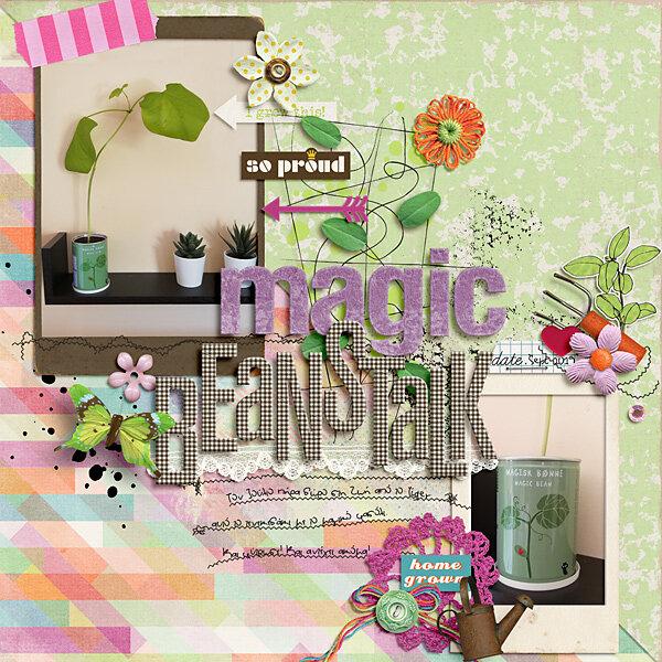 Magic beanstalk