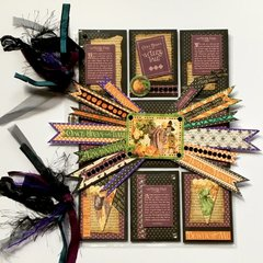 graphic 45 eerie tale pocket letter