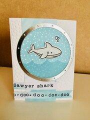 Shark Song Card