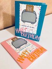 Poppin up to Say Happy Birthday