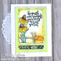 Be Gentle Friendship Card