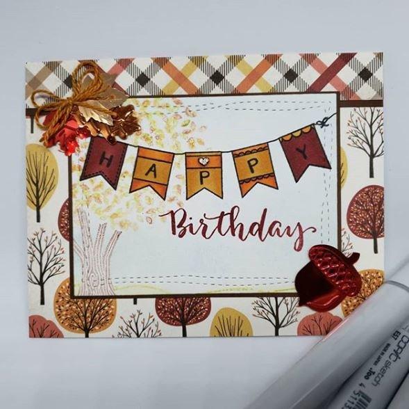 Fall Birthday