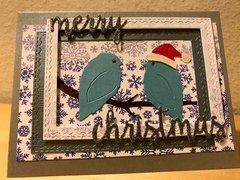 Christmas Love Birds