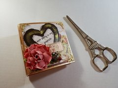 Love clippings collection chipboard tiny