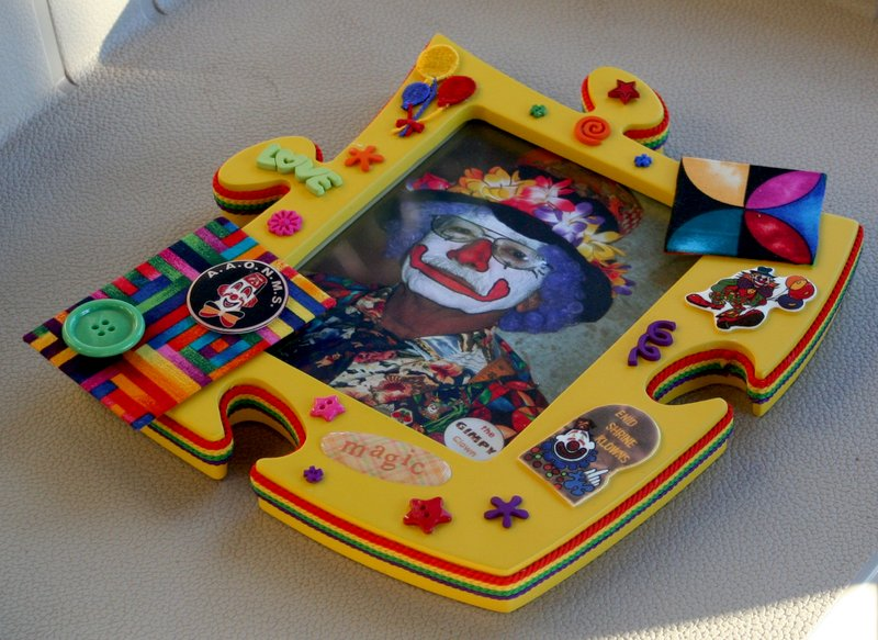 Special Frame for a Very Special Clown