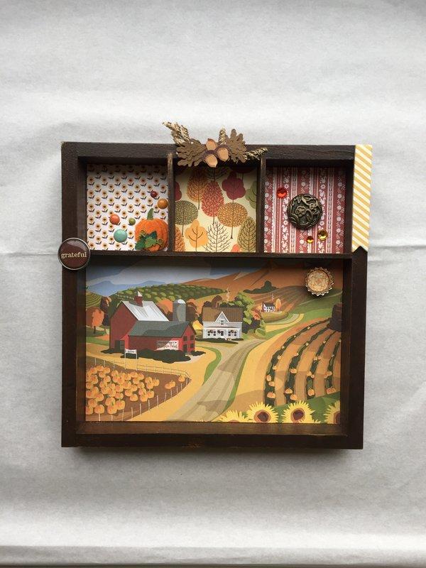 Autumn-themed Decor Piece