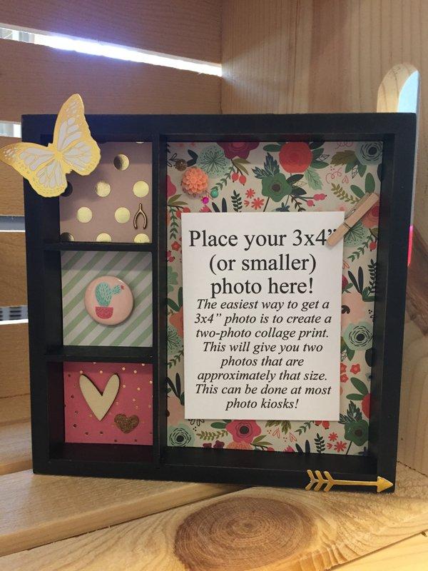 Fun & Bright Photo Holder/Shadow Box
