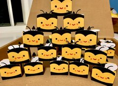 A swarm of � Prep Bee � gift boxes