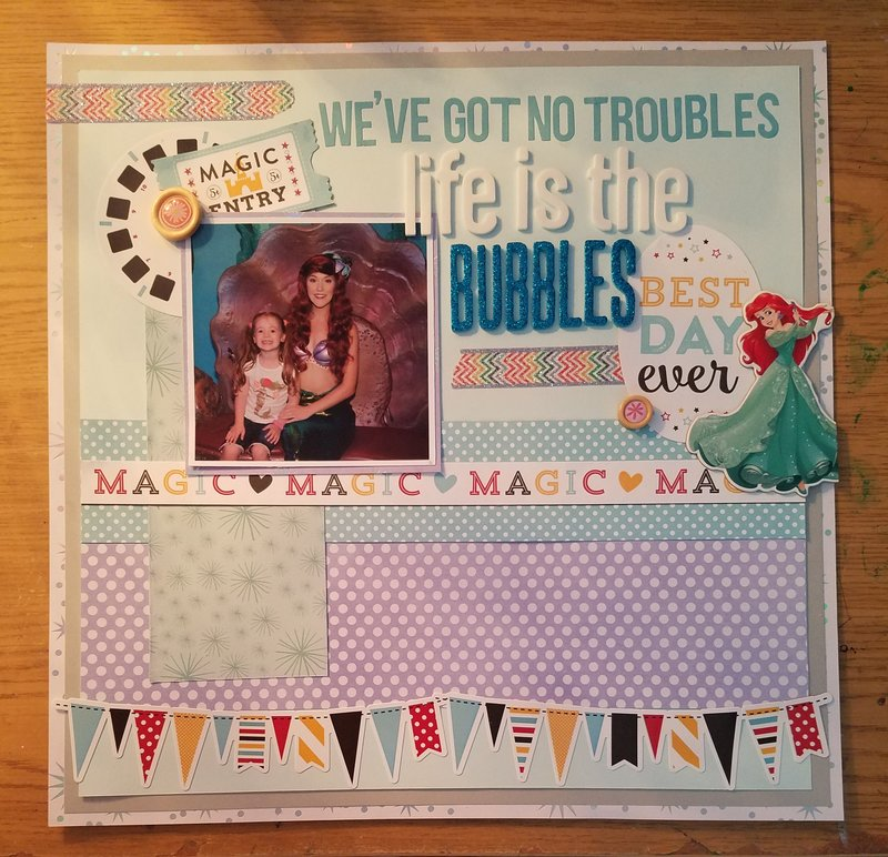 We've Got No Troubles Life Is The Bubbles