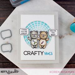Heffy Doodle Crafty Bears