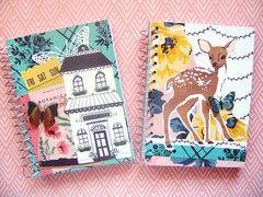 Flourish scrapbook Spiral notebook