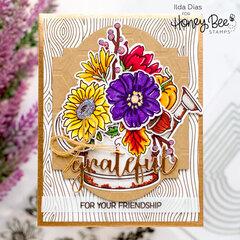 Grateful Friendship Bouquet Card