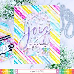 Joy Filled Shaker Card