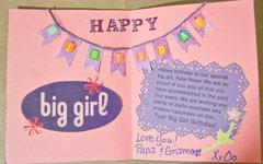 Big Girl Birthday
