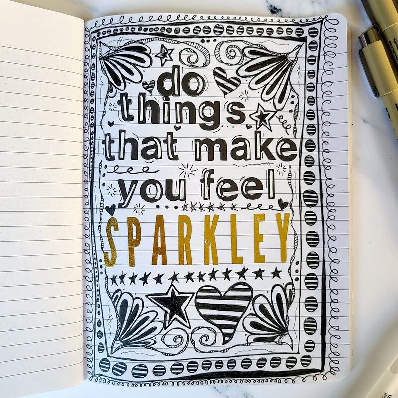 do things that make you feel sparkly