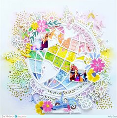 Fun and Happiness Floral Globe