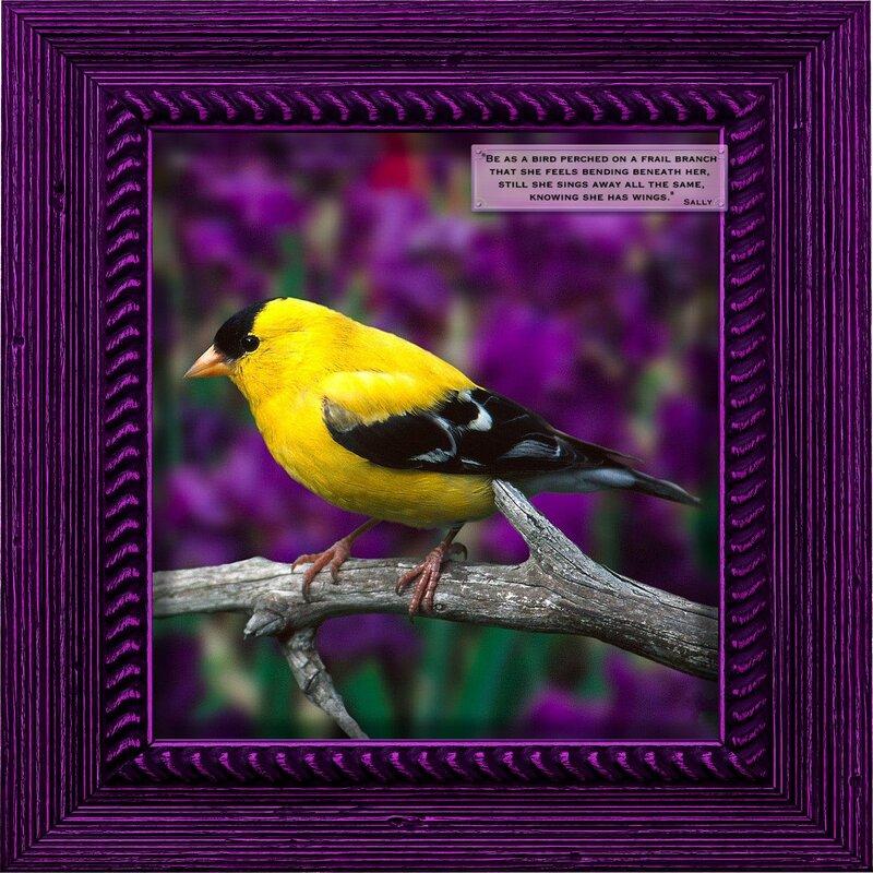 Spring Bird Lilacs
