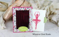 Spinning Ballerina Card